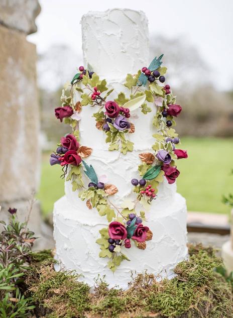 Wedding Cake - Boho Cake- North Yorkshire