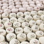 Hand painted macarons favours