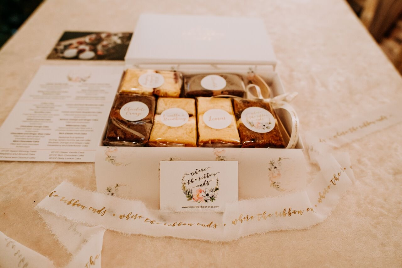 Sample box or our Award winning cake flavours