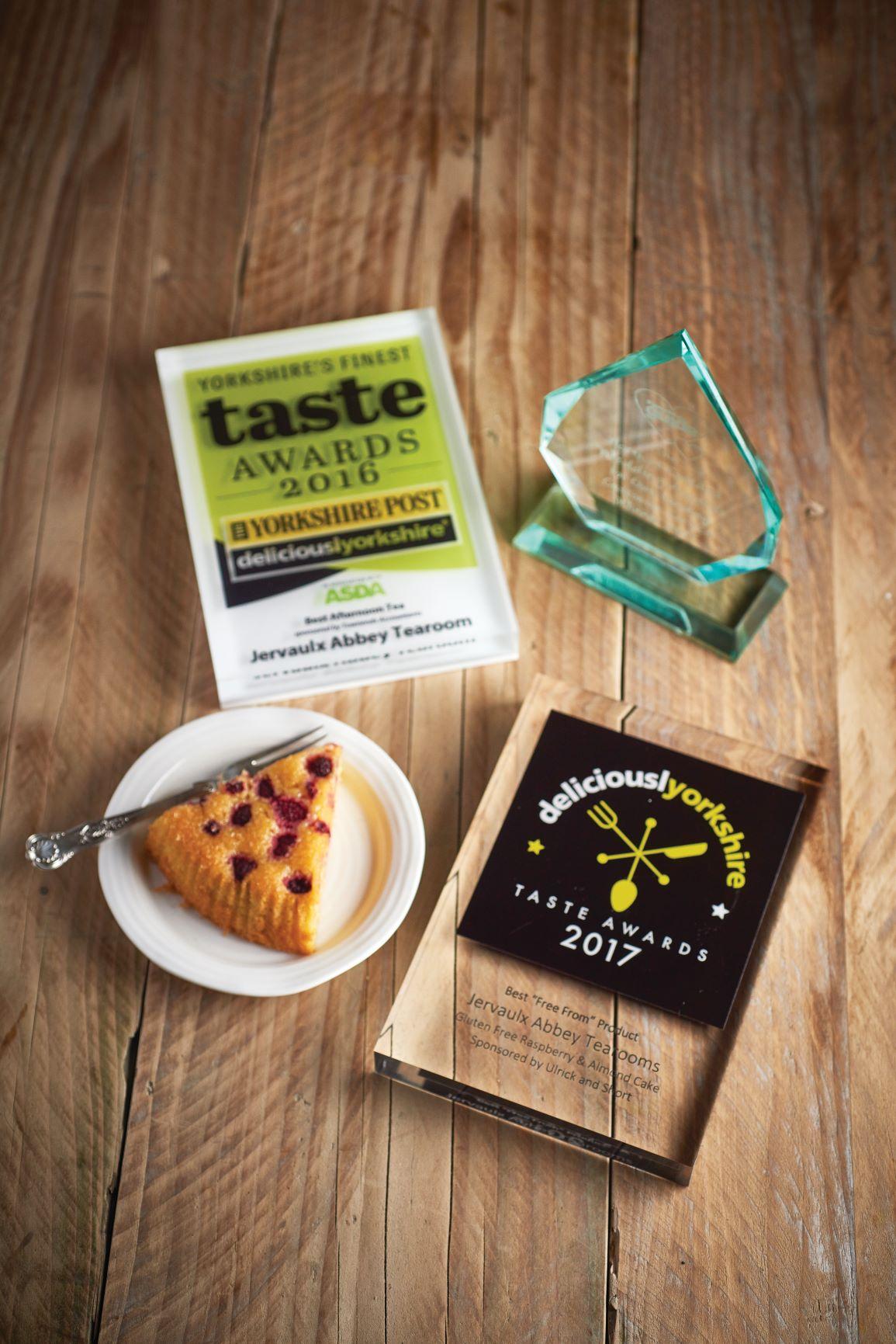Award winning cake flavours