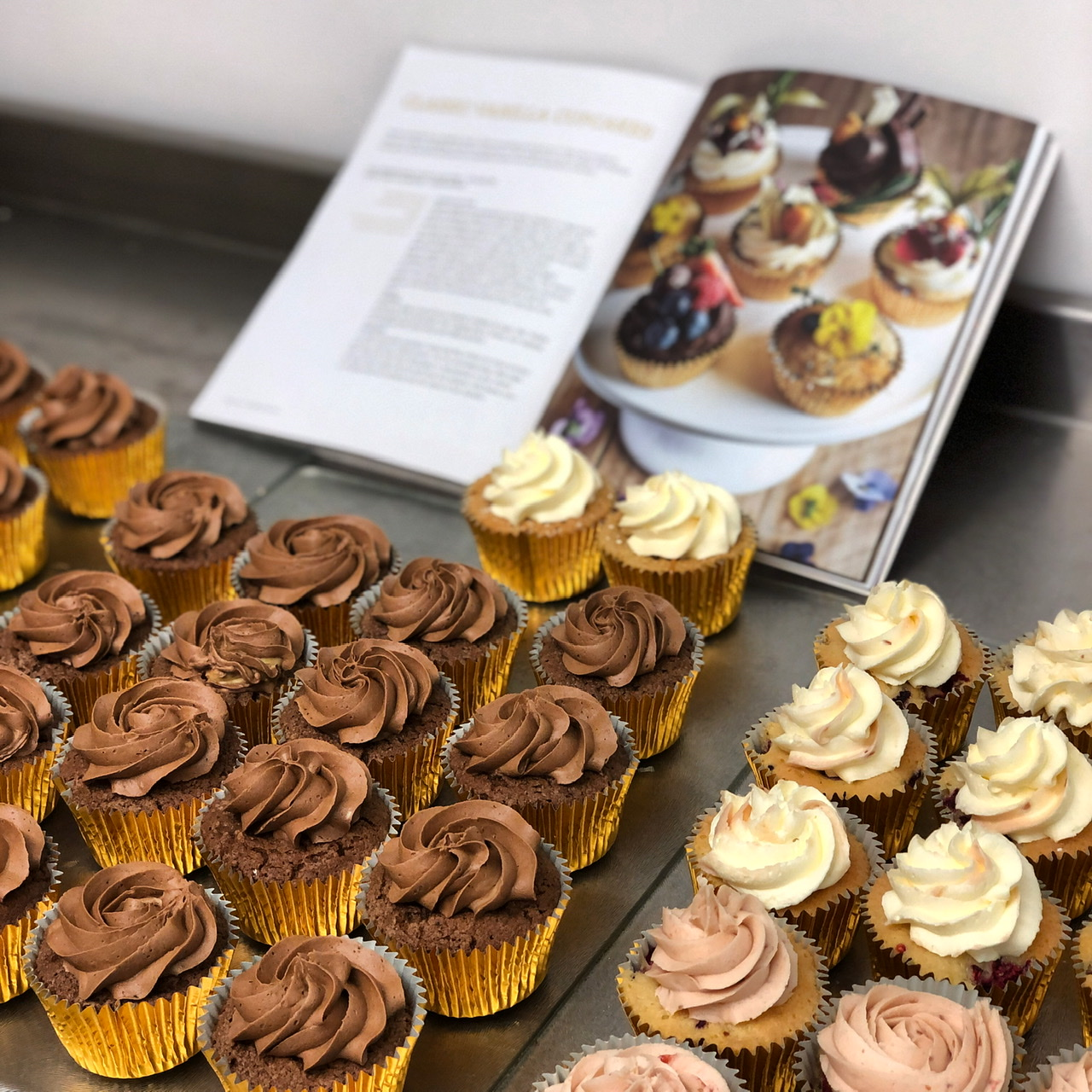 Cupcakes from our recipe book
